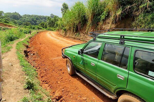 Road trips in Uganda